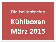 Die beliebtesten Kühlboxen im März 2015